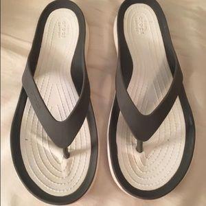 Women's Croc Flip Flops